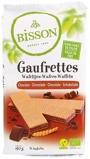 Afbeelding vanBisson Wafels chocolade (190 gram)