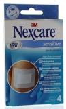 Afbeelding vanem Nexcare sensitive pleister steriel 4 stuks