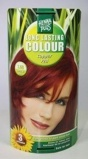 Afbeelding vanHennaplus Haarkleuring long lasting colour 7.46 copper red 100ml