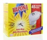 Afbeelding vanVapona Anti Mug Stekker 45 Nachten, 1 stuks