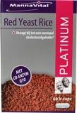 Afbeelding vanMannavital Rode rijst Q10 platinum (60 capsules)