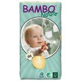 Afbeelding vanBambo Babyluier Midi 3 5 9 Kilogram, 66 stuks