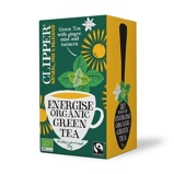 Afbeelding vanClipper Energise green tea (20 zakjes)