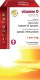 Afbeelding vanFytostar Vitamine D kauw zuigtablet (90 tabletten)