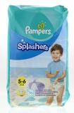 Afbeelding vanPampers Splashers maat 5 6 (14+ kg) 10 wegwerpbare zwemluiers