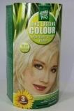 Afbeelding vanHennaplus Long Lasting Colour 10.01 High Light Silver Blond 100ml