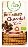 Afbeelding vanBisson Biscuits chocolade (180 gram)