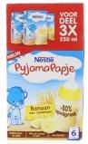 Afbeelding vanNestle Pyjamapapje Banaan 250 ml, 3 stuks