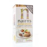Afbeelding vanNairns Oatcakes organic seeded (200 gram)