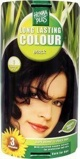 Afbeelding vanHennaplus Haarkleuring long lasting colour 1 black 100ml
