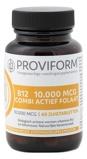 Afbeelding vanProviform Vitamine B12 10.000 mcg combi actief folaat (60 zuigtabletten)