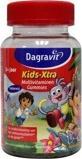 Afbeelding vanDagravit Kids Xtra Dora&Diego multivitaminen gummies 60