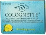 Afbeelding van4711 Verfrissingdoekjes colognette lemon 10 stuks