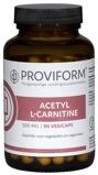Afbeelding vanProviform Acetyl L carnitine 500 Mg, 90 Veg. capsules