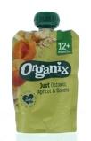 Afbeelding vanOrganix Just oatmeal apricot banana 6 36 maanden (100 gram)
