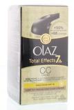 Afbeelding vanOlaz Total Effects 7 in 1 CC dagcrème lichte/medium huid 50 ml