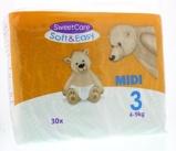 Afbeelding vanSweetcare Luiers Soft & Easy Midi Nr 3 4 9kg, 30 stuks