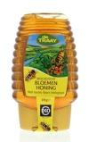 Afbeelding vanTraay Bloemenhoning knijpfles bio (375 gram)