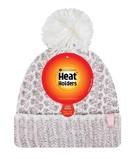 Afbeelding vanHeat Holders Ladies Feathered Knit Pom Hat Lund Coral/cream (1st)