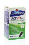 Afbeelding vanDavitamon Actifit 50 Plus Omega 3 Visolie Capsules 90st