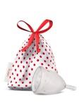Afbeelding vanLadycup Menstruatie Cup Transparant Maat S 40 Mm, 1 stuks