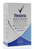 Afbeelding vanRexona Deodorant Stick Max Prot Clean Scent Women, 45 ml