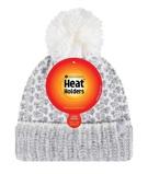 Afbeelding vanHeat Holders Ladies Feathered Knit Pom Hat Lund Grey/cream (1st)