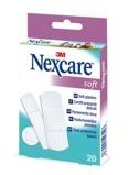 Afbeelding vanNexcare Soft Assorti Pleisters, 20 stuks