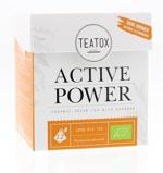 Afbeelding vanTeatox bio thee Active power (12 zakjes)