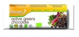 Afbeelding vanOrganic Food Bar active greens chocolade (68 gram)