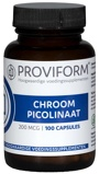 Afbeelding vanProviform Chroom Picolinaat 200 Mcg, 100 Veg. capsules
