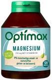 Afbeelding vanOptimax magnesium citraat 250 mg + vit B6 (120 tabletten)