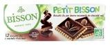 Afbeelding vanBisson Theebiscuit pure chocolade (150 gram)