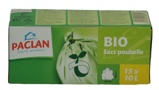 Afbeelding vanPaclan Huisvuil/afvalzak Bio 10 Liter, 15 stuks