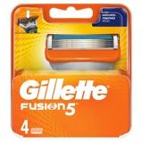 Afbeelding vanGillette Fusion 5 Scheermesjes voor Mannen, 4 stuks