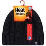 Afbeelding vanHeat Holders Ladies Cable Hat One Size Black, 1 stuks