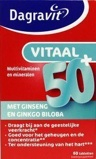 Afbeelding vanDagravit Vitaal 50+ blister (60 tabletten)