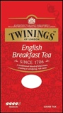 Afbeelding vanTwinings English breakfast tea karton (100 gram)