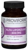 Afbeelding vanProviform Alfa Liponzuur 300 Mg, 60 Veg. capsules