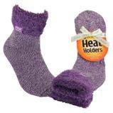 Afbeelding vanHeat Holders Ladies Lounge Socks 4 8 37 42 Lila Mauve/cream (1paar)