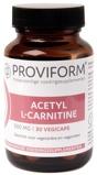 Afbeelding vanProviform Acetyl L carnitine 500 Mg, 30 Veg. capsules