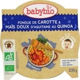 Afbeelding vanBabybio Slaap Lekker Menu 12 mnd Quinoa Groenten 230 gram