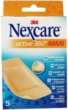 Afbeelding vanNexcare Active Maxi Pleisters, 5 stuks