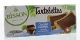Afbeelding vanBisson Tartelette choco hazelnoot (150 gram)