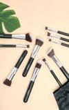 Εικόνα του10 Piece Kabuki Makeup Brush Set