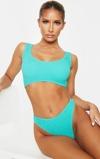 Εικόνα τουAqua Crinkle Deep Scoop Bikini Top