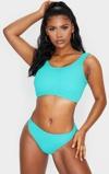 Εικόνα τουAqua Fuller Bust Crinkle Deep Scoop Bikini Top