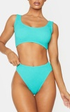 Εικόνα τουAqua Crinkle High Waist Bikini Bottom