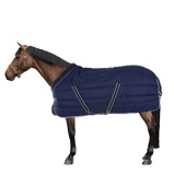 Image ofRambo Cosy Stable Navy with Beige, Baby Blue & Navy 400gr.
