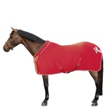 ObrázekHKM Fleece Rug Collar Red 155/205